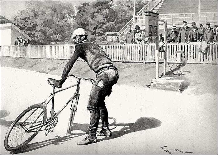 Lors du premier Tour de France, où se situa l'arrivée officielle de la dernière étape Nantes - Paris ?