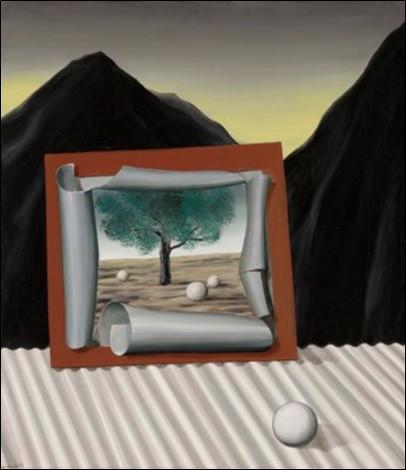 """Quel peintre surréaliste a réalisé cette toile intitulée """"Les Signes du soir"""" ?"""