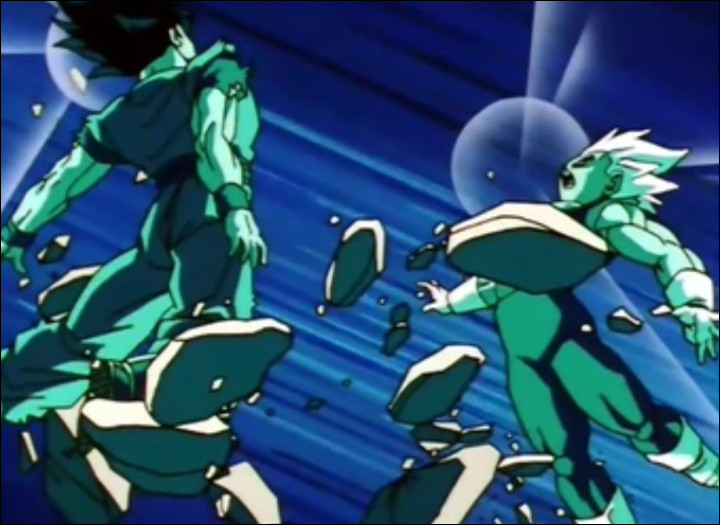 Comment s'appelle la fusion de Goku et Végéta (potaras) ?