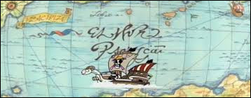 Quel est le nom de la première île sur laquelle va l'équipage de Luffy à Grand Line ?
