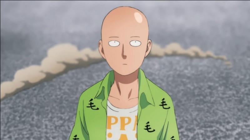 Quelle est la principale caractéristique de Saitama qui le rend pas comme les autres ?