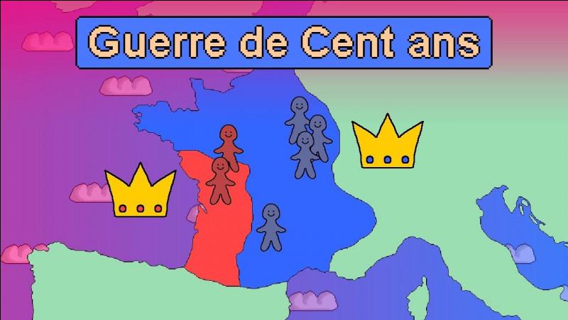 La guerre de Cent Ans dura 116 ans. Durant celle-ci, la France vit naître et mourir Jeanne d'Arc. Quelles sont les dates exactes de la guerre de Cent Ans ?
