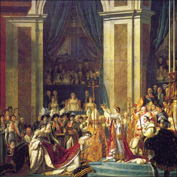 En quelle année Napoléon Bonaparte fut-il sacré empereur, par le pape Pie VII ?