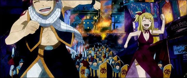 Quel est le nom de la ville où Natsu a rencontré Lucy ?