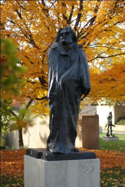Quel écrivain connu, Rodin a t-il voulu sculpter en 1897 ?
