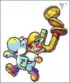 Ce personnage est : (Pas Yoshi, celui sur son dos avec l'aimant géant ! )