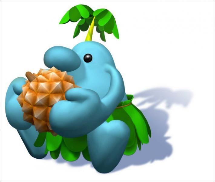 Ce personnage au gros nez est un habitant de l'île Delfino. Le connaissez vous ?