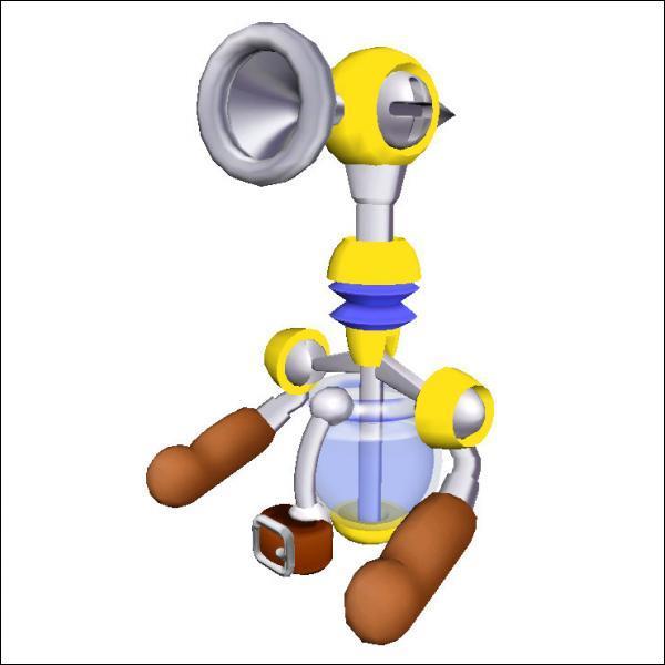 Cette pompe qui a été bien utile à Mario pour nettoyer l'île Delfino a un nom. Lequel ?
