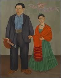 "Qui a peint ""Frieda et Diego Rivera"" ?"