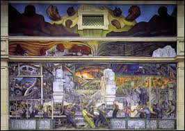 """Qui a peint """"Peintures murales de l'industrie de Detroit"""" ?"""