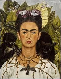 """Qui a peint """"Autoportrait au collier d'épines et colibri"""" ?"""