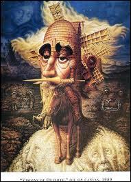 """Qui a peint """"Visions de Quichotte"""" ?"""