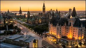 Samuel le Champlain aurait fondé Ottawa.