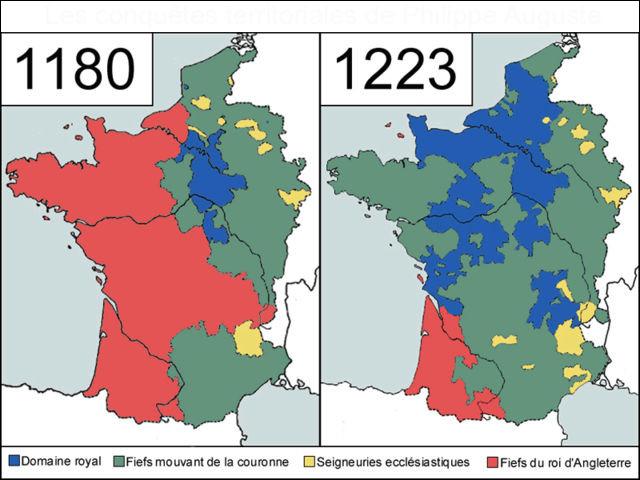 Mais un évènement politique va changer la donne linguistique à partir de 1204 : lequel ?