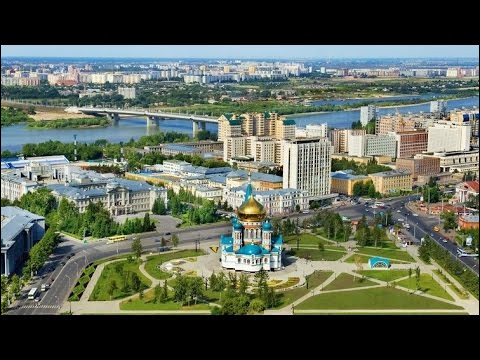 Omsk, 1,2 million d'habitants, est une ville d'...