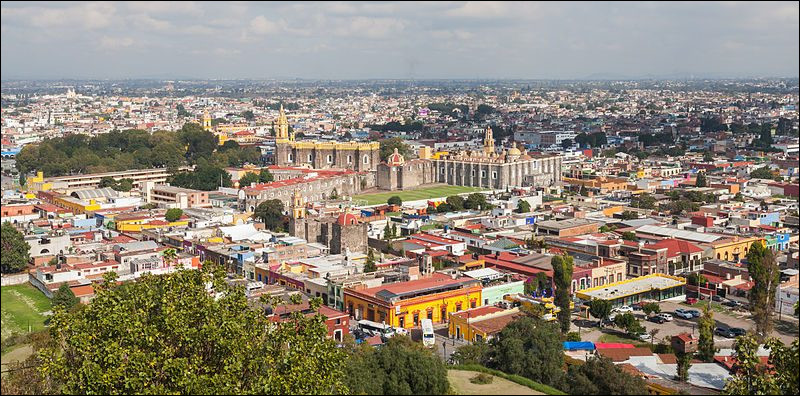 Puebla, 1,5 million d'habitants, est une ville d'...