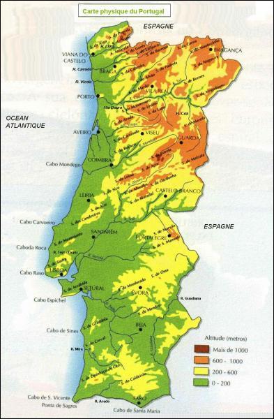 Combien y a-t-il de districts au Portugal ?