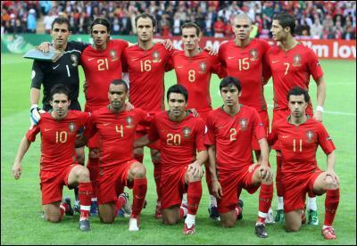 Combien de titres a remporté l'équipe de football du Portugal ?