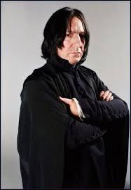 De qui Severus Rogue était-il amoureux ?