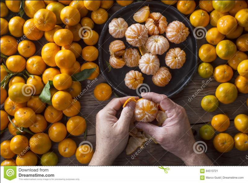 Le fruit vous donne le titre !