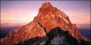 Quel est le deuxième plus haut sommet d'Afrique ?