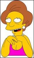 Quel membre de la famille Simpson est dans la classe d'Edna Krapabelle ?
