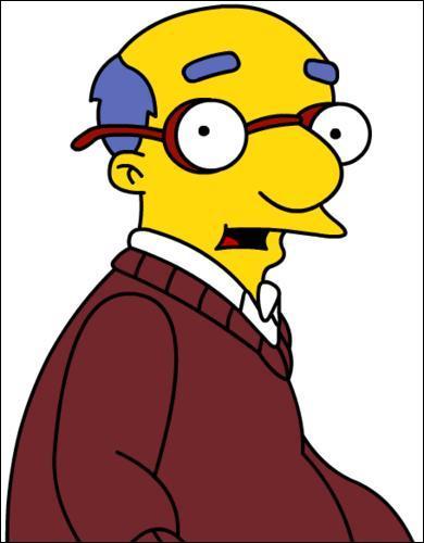 Quel est le prénom du père de Milhouse ?