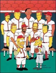 Quel est le nom de l'équipe de Base-Ball de Springfield ?