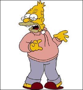 Quel est le prénom du grand père Simpson ?