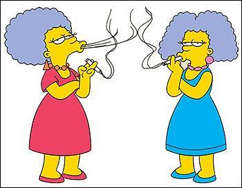 Comment s'appellent les sœurs jumelles de Marge ?