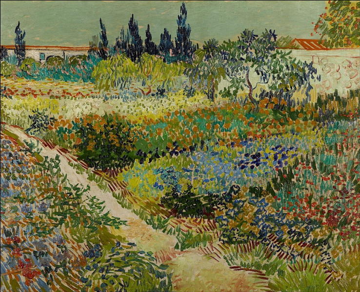Qui a représenté ce jardin ?