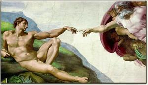 La Création d'Adam est une très célèbre fresque peinte par Michel Ange . Où se situe elle ?