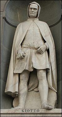 Giotto di Bondone est un célébre peintre et sculpteur italien . Quel était son mouvement artistique ?