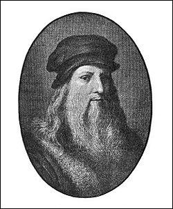Parmi ces oeuvres célébres de Leonard de Vinci laquelle n'est pas une peinture ?