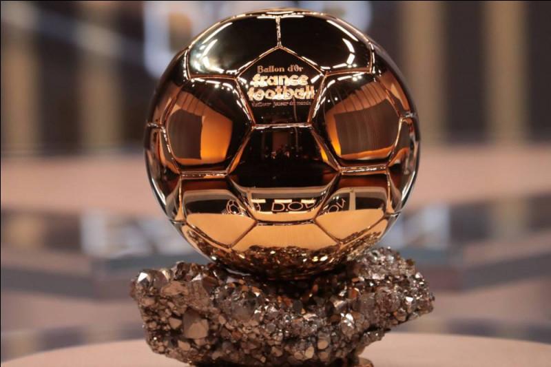 Qui sont les joueurs à avoir eu le Ballon d'or ?