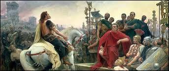 Dans quelle ville Vercingétorix et les gaulois ont-ils été vaincus ?