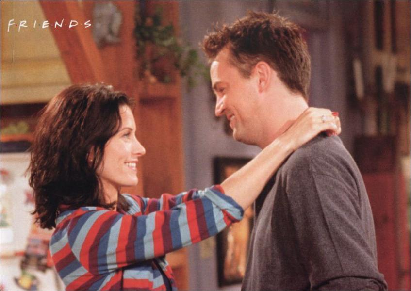 Chandler confie à Monica qu'il voudrait nommer son premier enfant ...