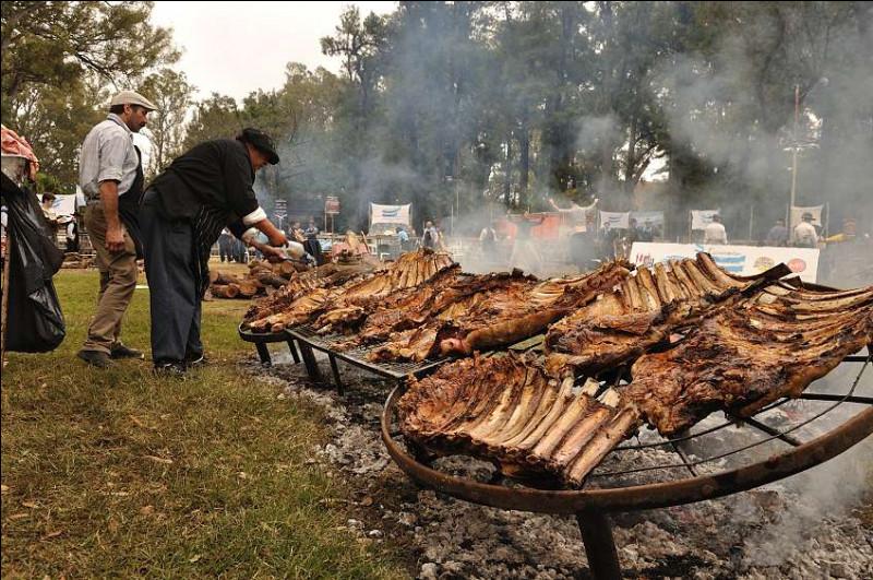 Il parait que c'est le pays où l'on mange la meilleure viande de boeuf du monde, rien qu'à regarder la photo, je me sens l'âme d'un gaucho !