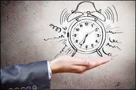 Le matin, à quelle heure te lèves-tu généralement ?