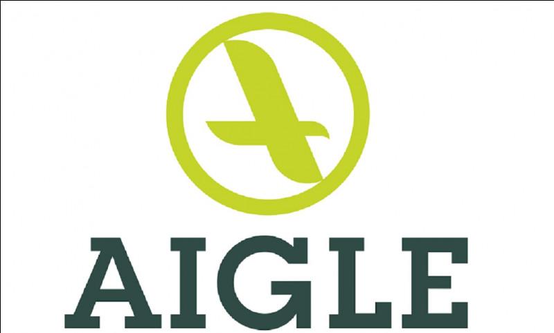 Qu'a fabriqué en premier la marque française ''Aigle'' ?