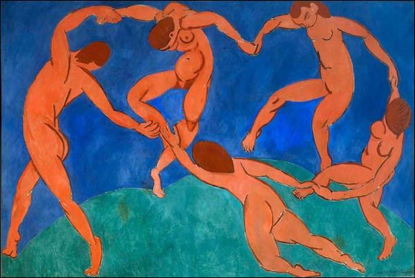 Qui a peint ce tableau, ''La Danse'', en 1909 ?