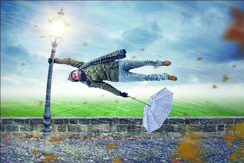 Une personne a une crainte morbide du vent. Elle souffre :