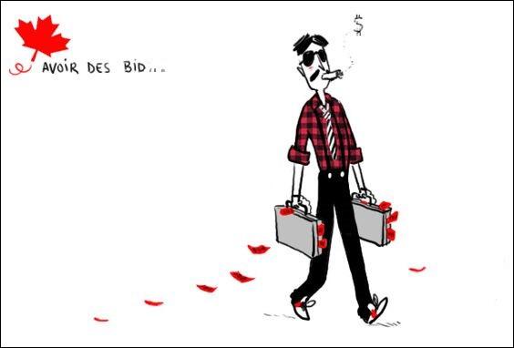 Argent, monnaie au Québec :