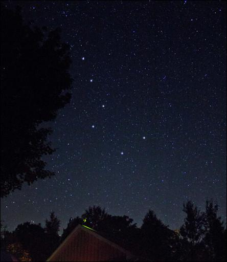 Le septentrion désigne les sept étoiles d'une constellation, laquelle ?
