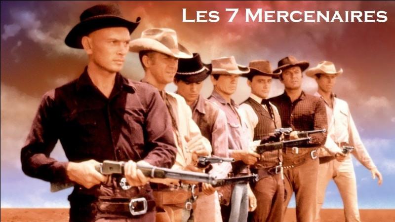 """Dans le western de John Sturge, """"Les Sept Mercenaires"""", quel acteur n'en faisait pas partie ?"""
