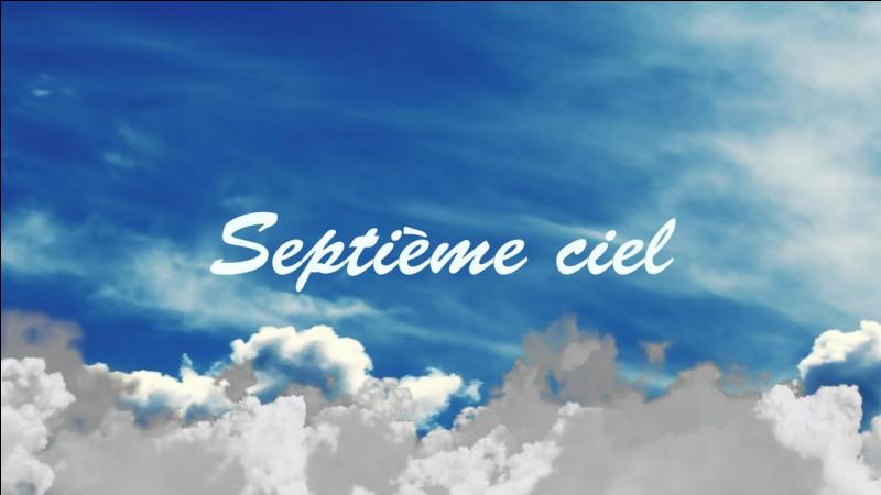 """Toujours """"Le septième ciel"""" !"""