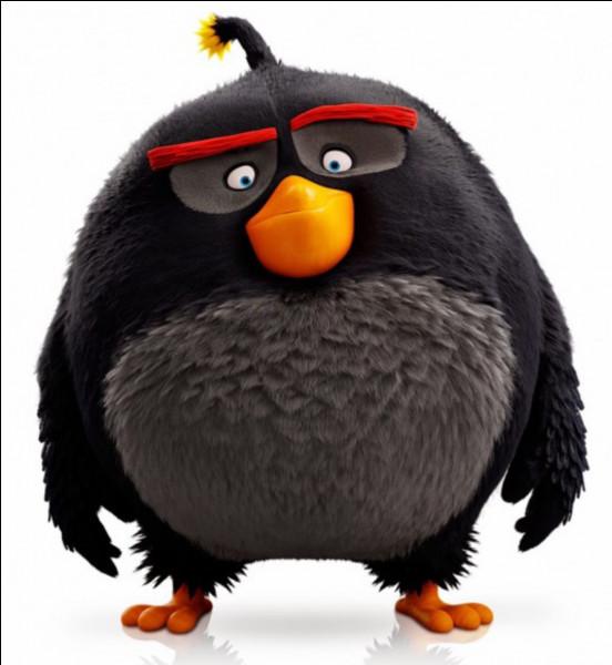 """Quelle est la caractéristique de ce personnage dans le jeu """"Angry Birds"""" ?"""