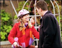 Pourquoi Ross a offert ce vélo à Phoebe ?