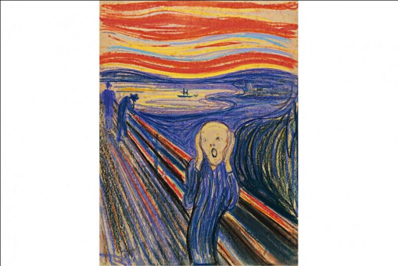 """Cr comme cri : nous connaissons la version la plus célèbre de l'œuvre intitulée """"Le Cri"""" d'Edvard Munch, mais ce n'est pas celle que j'ai mise en photo. Combien de tableaux intitulés """"Le Cri"""" Munch a-t-il réalisés ?"""