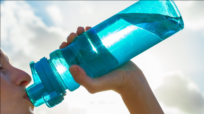 Cr comme crampe : le remède le plus efficace est de boire de l'eau :